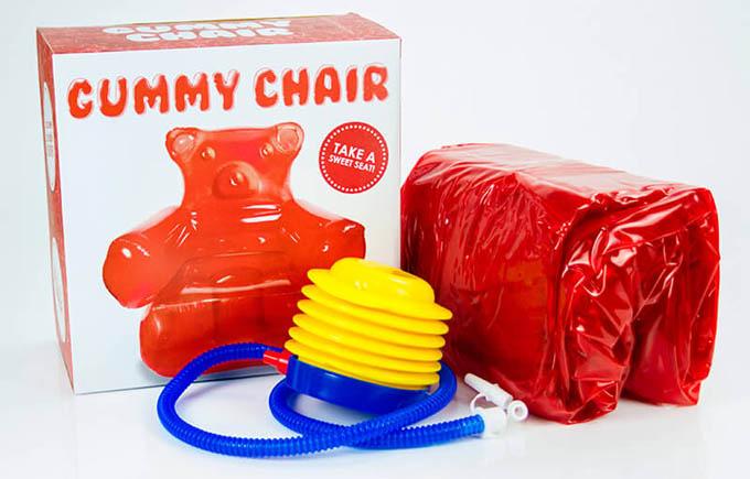 Comprar sillón inflable osito gominola