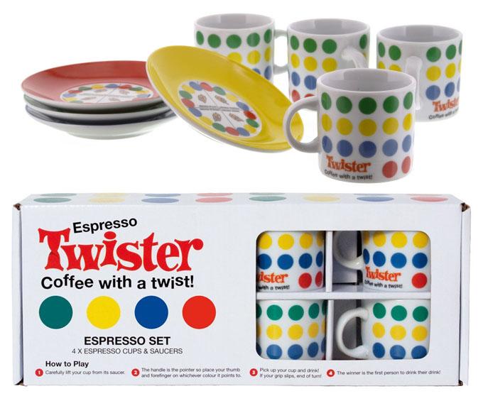 Tazas Twister café