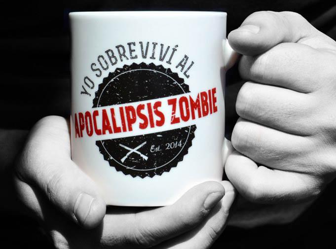 Taza sobreviví apocalipsis zombie