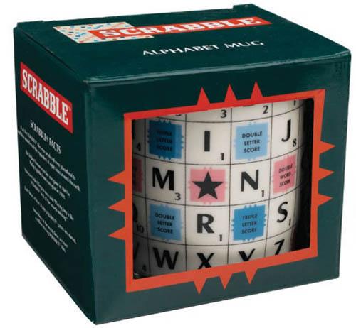 Comprar taza Scrabble Alphabet