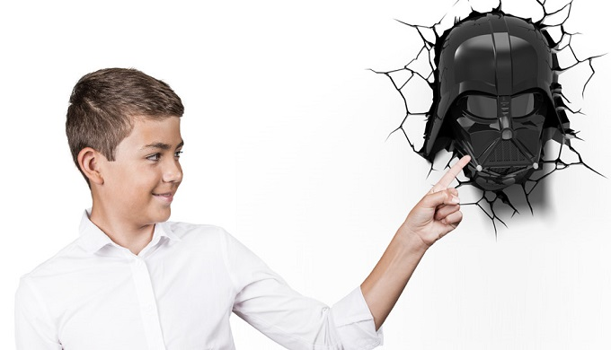 Vader lampara ambiental 3D