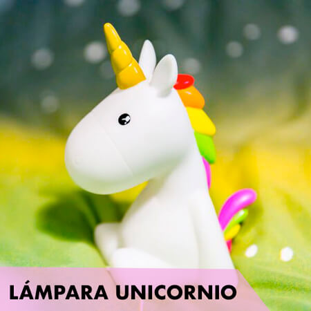 Lámpara ambiental Unicornio