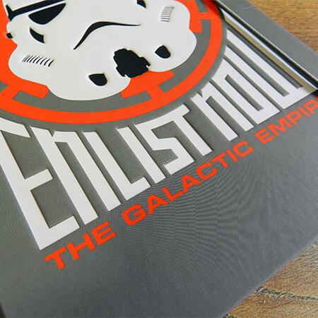 Libreta A5 Enlist now to the galactic empire