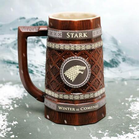 Jarra premium Stark, de Juego de Tronos