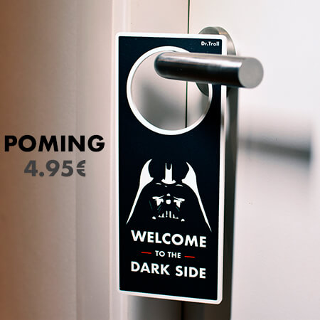 Poming welcome to the dark side