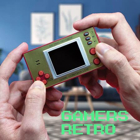 Producto para gamers retro de todas las edades