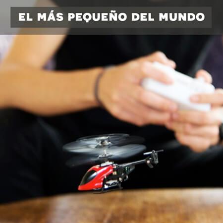 Helicóptero teledirigido más pequeño del mundo