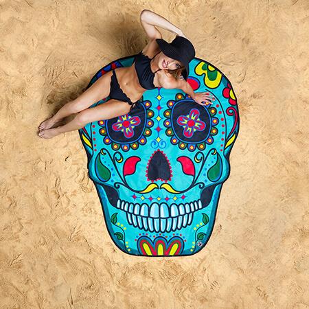 Toalla Calavera Mexicana